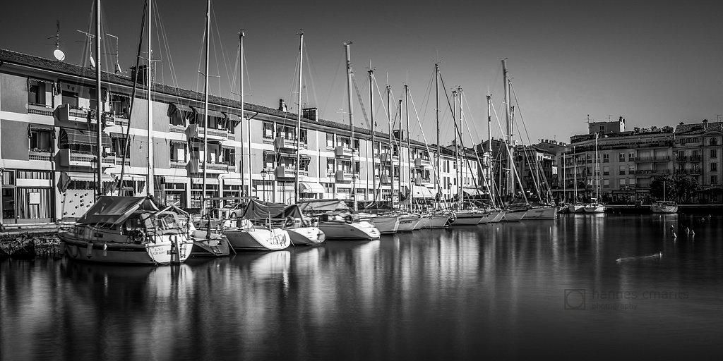 Yacht harbour - Grado