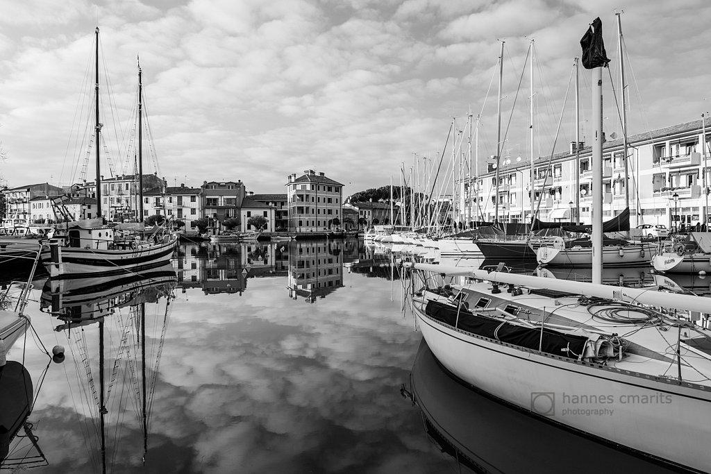 Grado - old harbour village