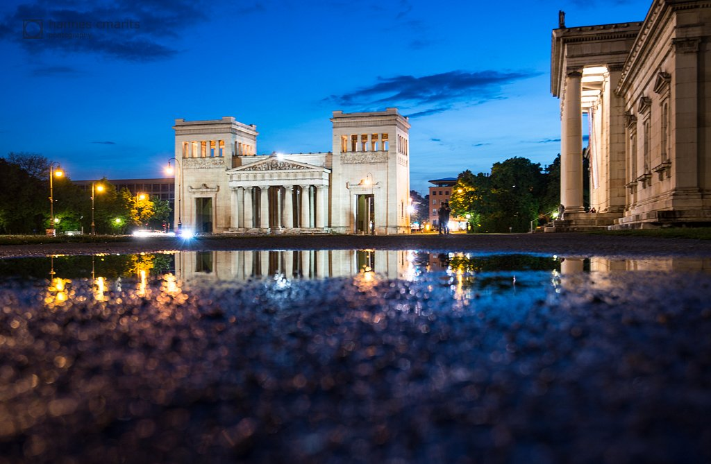 Königsplatz - After the rain